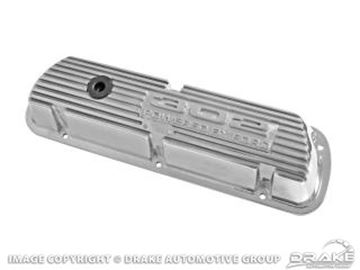 Picture of 302 Polished Aluminum Valve Covers (Pair) : 6A582-302P
