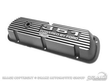Picture of 351 Aluminum Valve Covers (Pair) : 6A582-351