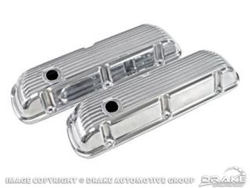Picture of Cal Custom Aluminum-Finned Valve Covers : C5ZZ-6A582-AF