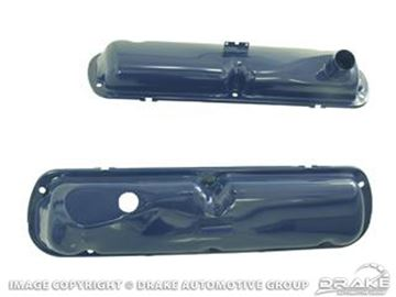Picture of 65-68 Small Block Valve Covers (Blue) : C5ZZ-6A582-BL
