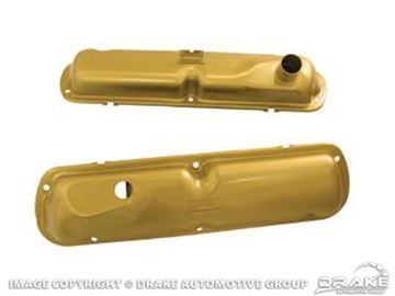 Picture of 64-65 Valve Covers(Gold, Fits 260 & 289) : C5ZZ-6A582-G