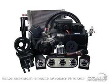 Picture of 1965-66 Mustang Hurricane AC & Heater Kit w/ Electronic Controls and Dash Bezels (200) : CAP-1165M-6