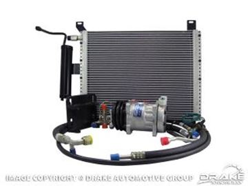 Picture of 1965 Mustang Under Hood AC Performance Kit (v8) : 50-0012