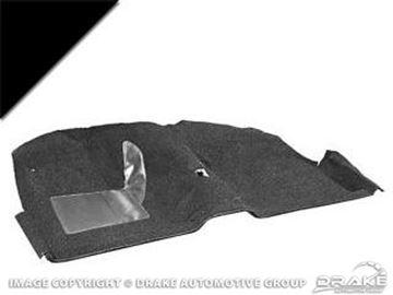 Picture of 1964 Molded Carpet Kit (Black) : CAR64-CP-BK