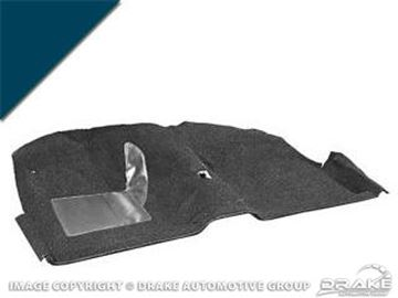 Picture of 1964 Coupe Molded Carpet Kit (Dark Blue) : CAR64-CP-DB
