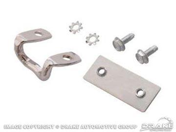 Picture of 64-66 Glovebox Striker Set (Chrome) : C5ZZ-6506064-C