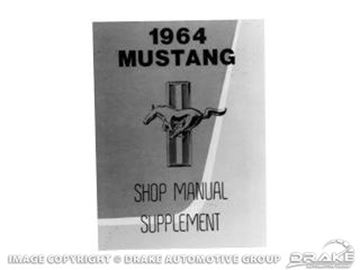 Picture of 1964 Shop Mannual Supplement : MP-27