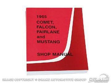 Picture of 1965 Shop Manual : SM-65