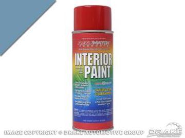 Picture of 64-65, 69-70 Medium Blue Metallic Interior Paint : L-5747