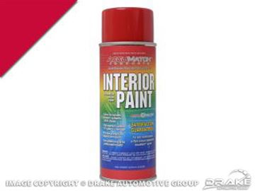 Picture of 64-65 Bright Red Semi Gloss Interior Paint : L-6022