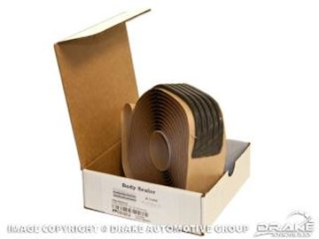 Picture of 1964-73 Mustang Body Seam Sealer Strips (5 - 13'x.19' strips) : ESB-M4G32-A