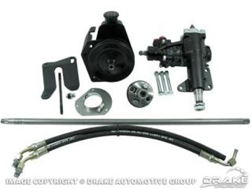 Picture of 1964-66 Mustang Power Steering Conversion Kit - V8 MS to PS : C5ZZ-MS-PS-CK