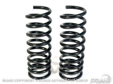 Picture of 1967-70 Mustang Progressive Rate Coil Springs (Small Block) : C7ZZ-5310-SB-PR