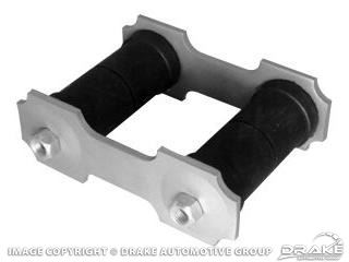 Picture of 66-73 Shackle Kit (Gray Standard 1/2' Rods) : C6ZZ-5776-K