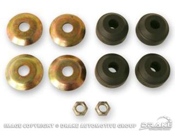 Picture of 1964-66 Mustang Strut Rod Bushings with Washers : C4DZ-3A187-AR