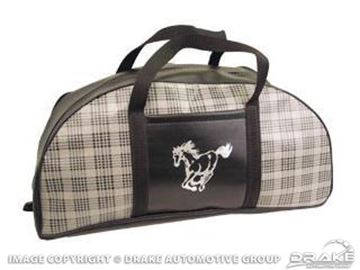 Picture of 64-73 Tote Bag (Plaid, Small) : TB-FM-S-PLD