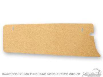 Picture of 64-66 Trunk Filler Board (Fiber Board) : C5ZZ-6511228-A