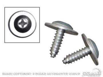 Picture of 1964-67 Mustang Trunk Filler Board Screws : 379120-S