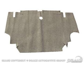 Picture of 1969-70 Mustang Burtex Trunk Mat-Fastback, Speckled : C9ZZ-6345456-B