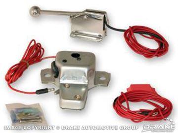 Picture of 64-66 Electric Trunk Release Kit : C5AZ-6243200-EL