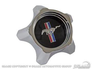 Picture of 1967 Styled Steel Hub Cap (Black) : C7ZZ-1130-B