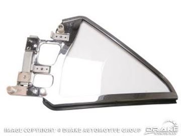 Picture of 1964-66 Mustang Coupe Quarter Glass Assembly (Right Hand, clear) : C5ZZ-6529958-CK