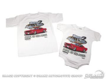 "Picture of ""Born 2 Cruz"" T-Shirt (Toddler) : B2C-4T"