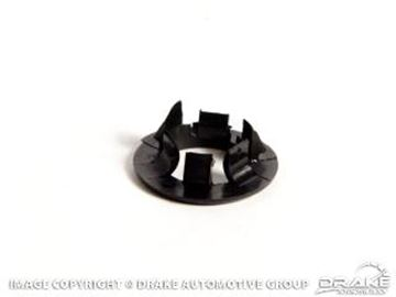 Picture of 1964 1/2 Mustang Door Lock Grommet Black : C2OZ-6221999-BK