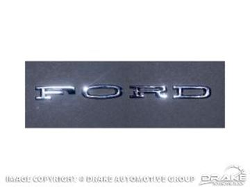 Picture of 1964-66 FORD Hood Letters (Stick-On) : C4OZ-6240282-SK