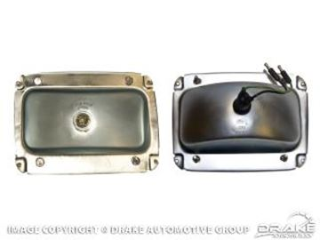 Picture of 1964 1/2 Mustang Tail Light Housing - Right Hand : C4ZZ-13434-R