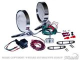 Picture of 1964-66 Mustang Deluxe Remote Mirror Kits with LED indicators : C5ZZ-17696-LED