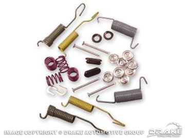 """Picture of Brake Spring - Hold Down Kit (10""""x2"""", Front/Rear) : C5ZZ-2035-CK"""