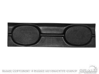 Picture of 1965-66 Mustang Fastback Trap Door with Speaker Pods : C5ZZ-6345728-SP