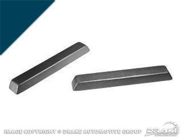 Picture of 1966 Arm Rest Pad (Dark Blue) : C5ZZ-6524100-DB
