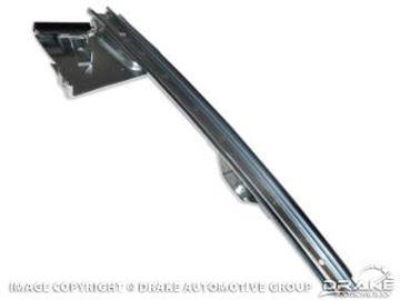 Picture of 1967-68 Mustang Right Rear Door Glass Guide : C7ZZ-65222A36-R