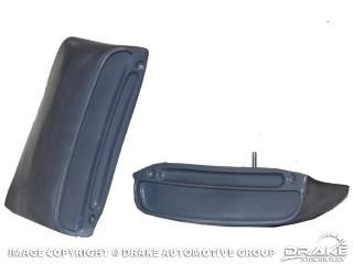Picture of 1967-68 Mustang GT/CS Lower Quarter Non-Functional Side Scoops : C8ZX-6529076/7
