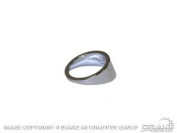 Picture of 1969 Mustang Ignition Chrome Bezel Spacer : C9ZZ-11574