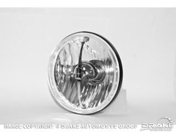 Picture of 1969 Mustang 5 3/4 Starlite Halogen Headlamp Assembly : C9ZZ-13007-SL