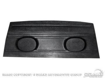 Picture of 1969-70 Mustang Fastback Package Tray with Speaker Pods : C9ZZ-6346656-SP