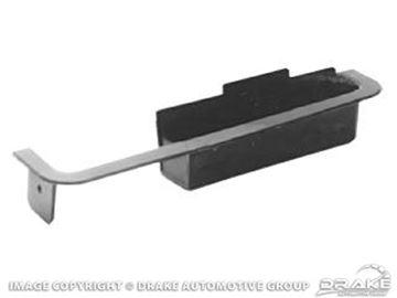 Picture of 1969 Mustang Deluxe Door Cup-RH Black : C9ZZ-6524046-BK