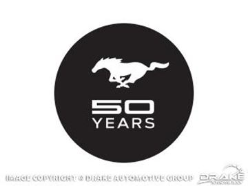 Picture of 50 Years Windshield Decal : 50YEARS-DECAL