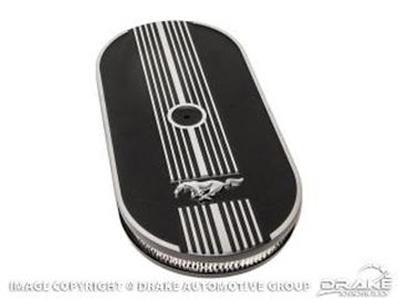 Picture of 1964.5-73 Mustang Oval Air Cleaner : C8ZZ-9600-M