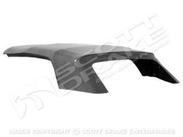 Picture of 1971-73 Premium Convertible Top with Glass-Black : D1ZZ-7652701-BR