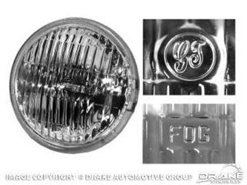 Picture of 1965-68 Mustang Fog Lamp-Clear : FDU-15220-GT