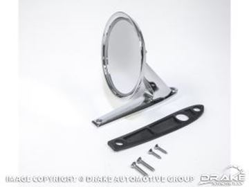 Picture of 1964-70 Mustang Show Quality Custom Long Base Mirror : C3RZ-17696-LB